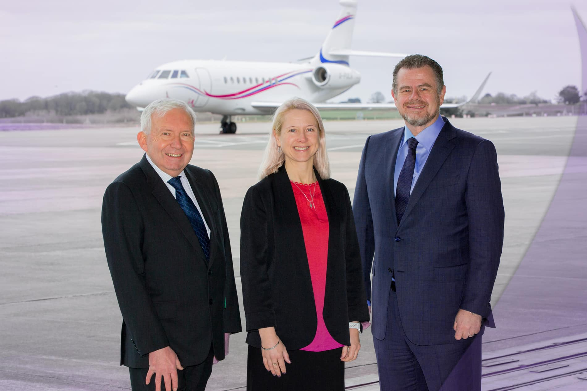 Picture of pula aviation team .