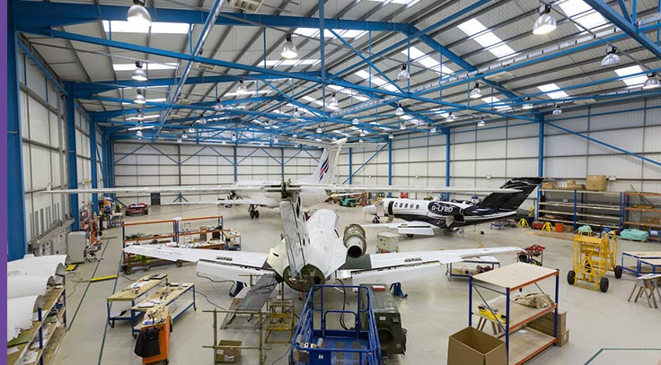 Picture of aircraft maintenance picture technical services.
