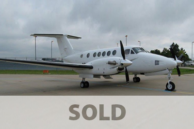 Picture of 2008 king air 4664 aircraft acquired.