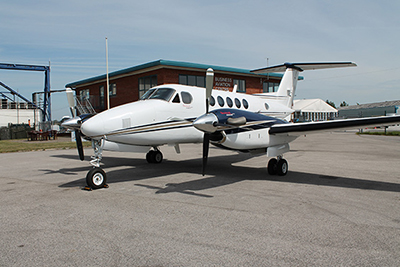 Picture of 2009 King Air B200 aircraft acquired.
