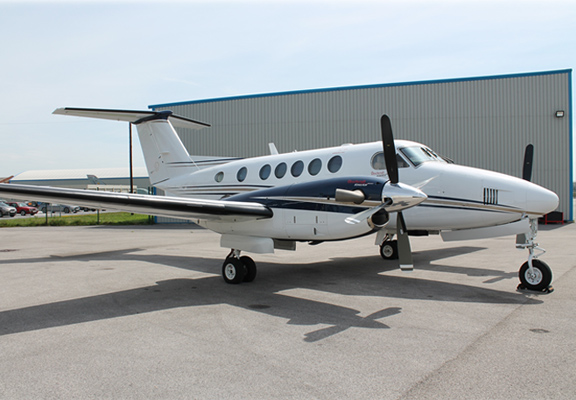 Picture of King Air 2009 plane featured king air b200gt.