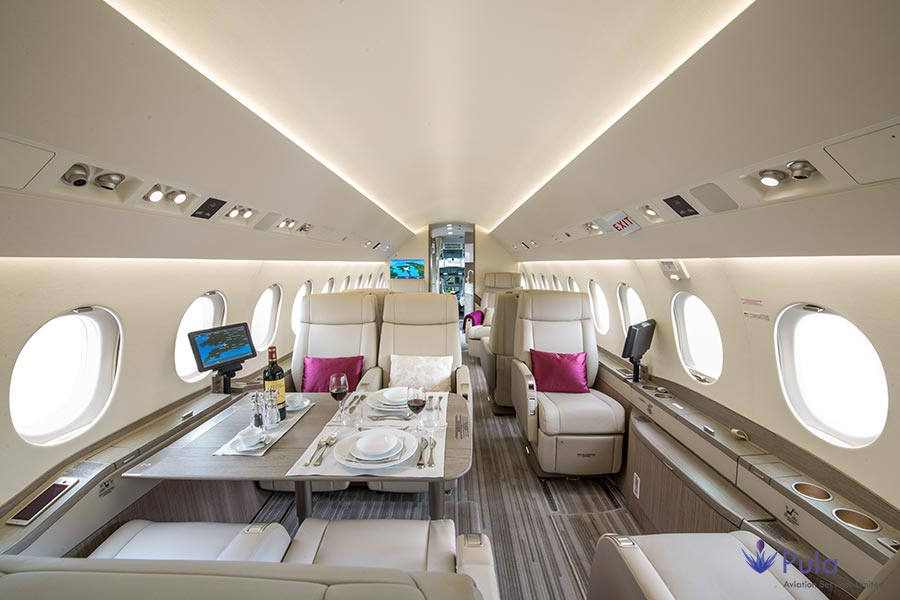 Picture of g pula aircraft gallery 01 falcon 2000 lxs.
