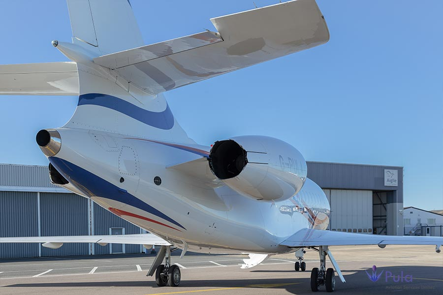 Picture of g pula aircraft gallery 03 falcon 2000 lxs.