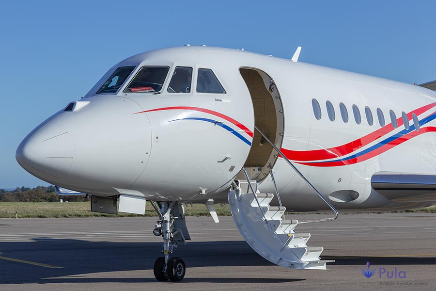 Picture of g pula aircraft gallery 04 falcon 2000 lxs.