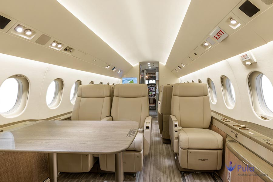 Picture of g pula aircraft gallery 08 falcon 2000 lxs.