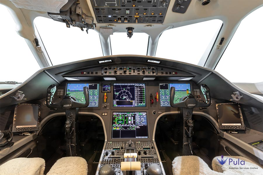 Picture of g pula aircraft gallery 10 falcon 2000 lxs.