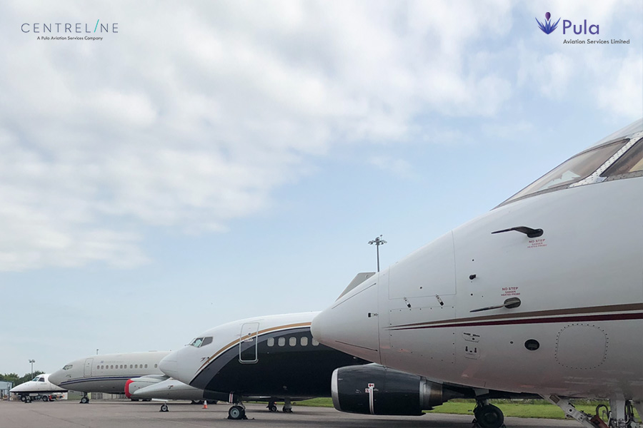 Business Jets and Business Airliners – Centreline's FBO Supports