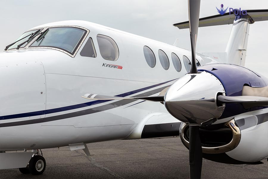 Picture of pasl king air 250 iasb 05 king air 250.