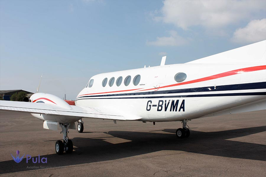 Picture of 1981 King Air 200 01 king air 200.