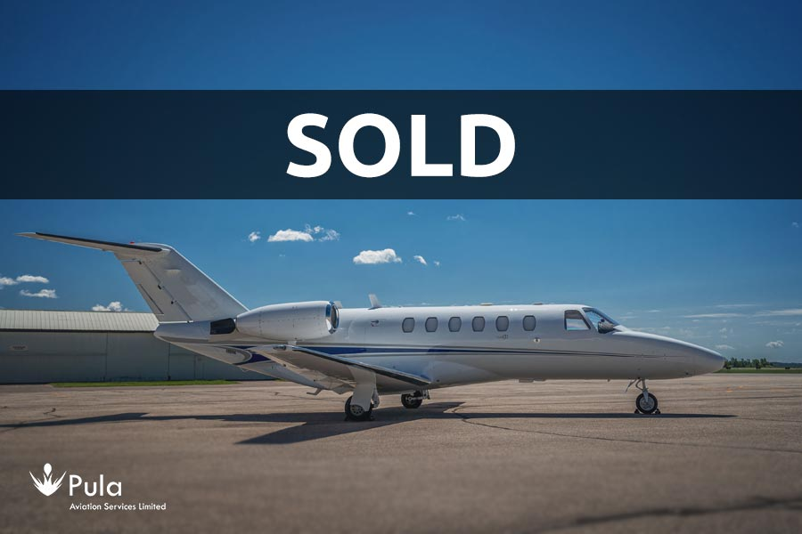 Picture of citation cj2 sold with pasl featured Citation CJ2.