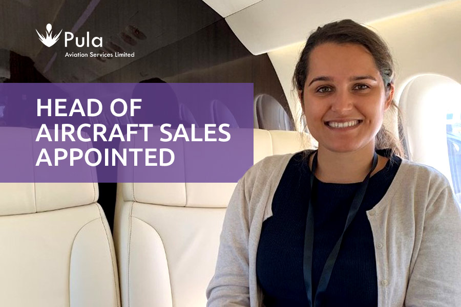 Jasmine Sohanta is appointed to Head of Aircraft Sales